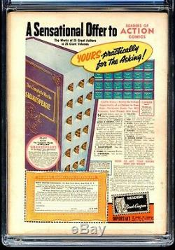 Action Comics 23 Cgc 3.0 G / Vg Superman DC 1940 1er Lex Luthor 1er Daily Planet