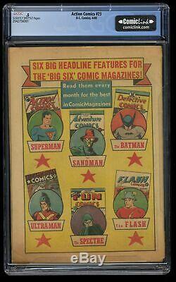 Action Comics # 23 Cgc P 0,5 1er Lex Luthor