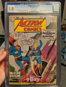 Action Comics 252 Cgc 1.8