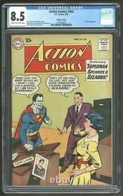 Action Comics 264 Cgc Vfn Troisième Copie Mohawk Valley La Plus Élevée
