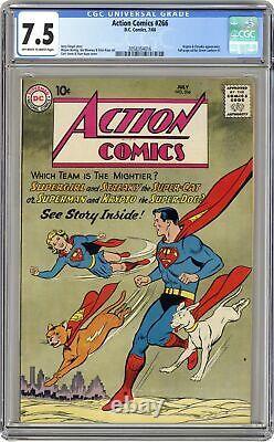 Action Comics # 266 Cgc 7.5 1960 2058354016