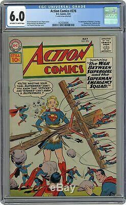 Action Comics # 276 Cgc 6.0 1961 1625556006