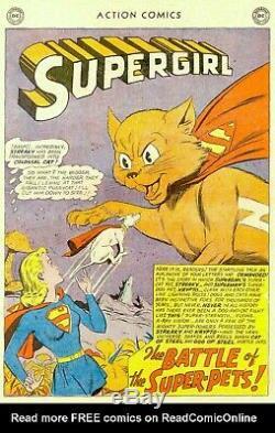 Action Comics # 277 Cgc Vf- 7.5 1961 DC Silver Age Problème De Couverture Supergirl