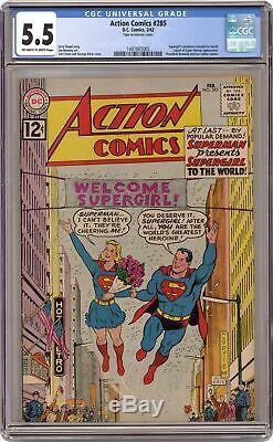 Action Comics # 285 Cgc 5.5 1962 1487865005