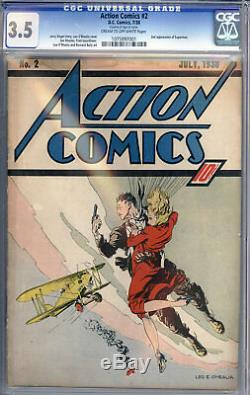 Action Comics # 2 Cgc