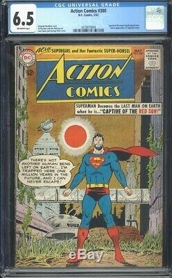 Action Comics 300 Cgc 6,5 8,0 Ow Silver Age DC Comic Igkc L @@ K