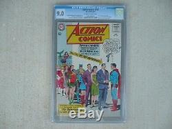 Action Comics # 309-1964-cgc 9.0