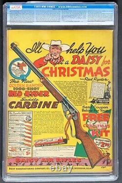 Action Comics # 31 Cgc 8.0 DC 1940 Bondage Couverture
