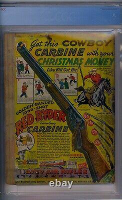 Action Comics #32 Cgc 1.0 1er Krypto Ray Gun