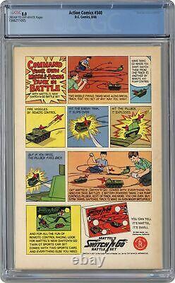 Action Comics #340 Cgc 8.0 1966 1566211005 1ère Application. Parasite