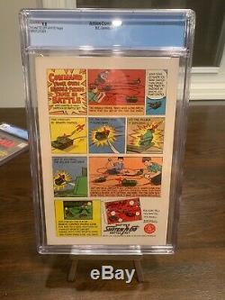 Action Comics # 340 Cgc 9.0 1966 1er Application. Parasite