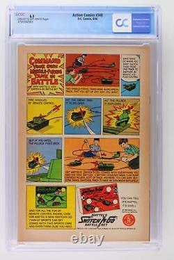 Action Comics #340 DC 1966 Cgc 6.5 Origine Et 1ère Apparition Du Parasite
