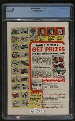 Action Comics 373 Cgc Vf-nm Plus Cinquième Plus Gradé Tout Simplement Sensationnel