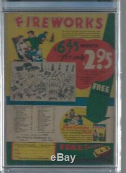 Action Comics # 37 Cgc 5.0 DC Golden Age Superman C'est Un Super Beau Livre