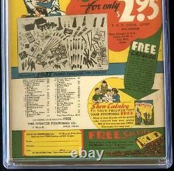Action Comics #37 (dc 1941) Cgc 6.5 Congo Bill & Golden Age Superman Comic
