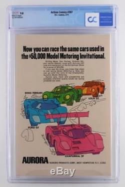 Action Comics # 397 -mint- Cgc 9,8 Nm / Mt DC 1971 -superman- Grade Plus Haut