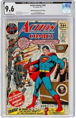 Action Comics # 405 Cgc 9,6 Murphy Anderson Copie De Fichier Neal Adams Arbre Généalogique