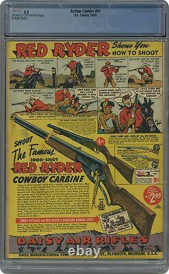 Action Comics #41 Cgc 5,5 1941 1249875001