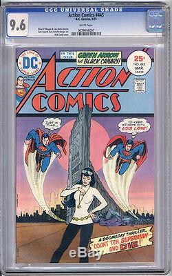 Action Comics # 445 Cgc Nm + 9,6 Superman Monterey
