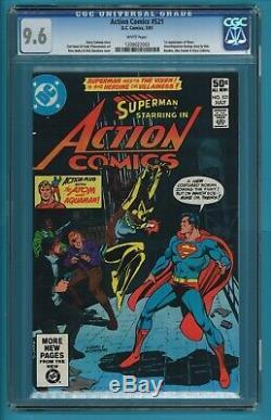 Action Comics # 521 Cgc 9.6 1ère Apparition Vixen