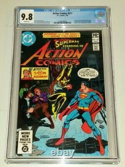 Action Comics #521 Cgc 9,8 Pages Blanches DC Comics Juillet 1981 1er Vixen (a) (sa)