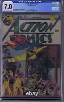 Action Comics # 67 DC Pub 1943