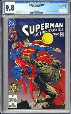 Action Comics #683 Cgc 9.8 Wp 1992 3766381003 Mort De Superman! Jour Du Jugement