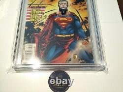 Action Comics #775 Cgc 9.8 DC Comics 2001 1er Manchester Black & The Elite