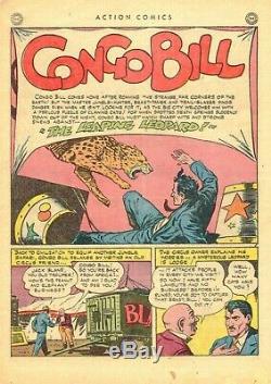 Action Comics # 77 DC 1944 Âge D'or Cgc 5.5 Fn- Couverture Farceur Et Histoire