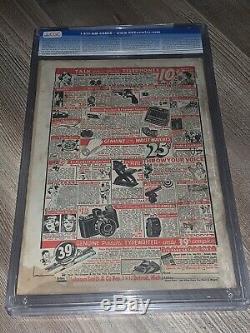Action Comics 7 Cgc 1.8 G- DC 1938 Rare 2 Superman Cover Jamais! Âge D'or Key