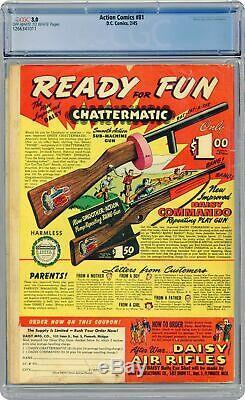 Action Comics # 81 Cgc 3.0 1945 1266341011