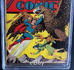 Action Comics # 82 (dc 1945) Cgc 4.5 Ow-w Seulement 48 En Recensement! Superman Couverture