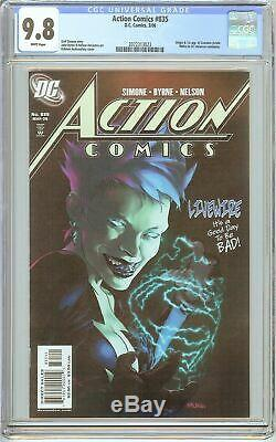 Action Comics # 835 Cgc 9.8 Pages Blanches (2006) 2072313023 Livewire
