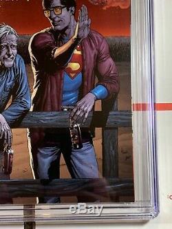 Action Comics # 869 Cgc 9.8 (dc Comics 2008) Rappelé Edition Bouteille De Bière