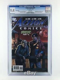 Action Comics # 869 Rappelé Bouteille De Bière Superman Variant Cgc 9.4 0244953013