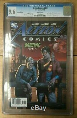 Action Comics # 869 Rappelé Bouteille Superman Bière Variant Cgc 9,6 1222416018