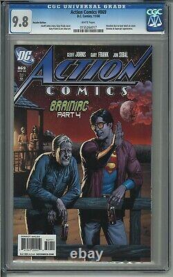 Action Comics #869 Rappelé Superman Beer Bottle Variante Cgc Comic Book