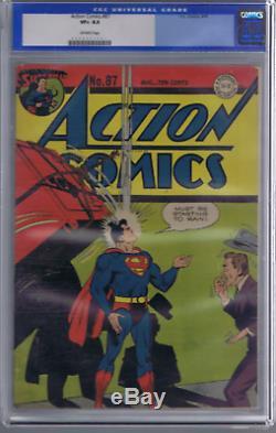 Action Comics # 87 DC Pub 1945