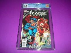 Action Comics #892 Cgc 9.6 Avec Pages Blanches À Partir De 2010 ! Variante DC Pas Cbcs A53