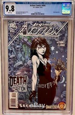 Action Comics 894 Cgc 9.8 Couverture De Finch Apparence De La Mort Superman High Graded