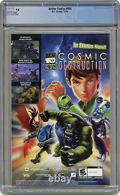 Action Comics #894a Finch Variante Cgc 9.8 2010 2113237002
