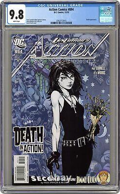 Action Comics #894a Finch Variante Cgc 9.8 2010 3763713015