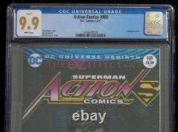 Action Comics #989 Cgc 9.9 Superman, 1ère Place Mlle Janet