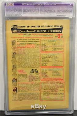 Action Comics N ° 184 Cgc 6.5 Superman 1953 Extrêmement Rare En Grade