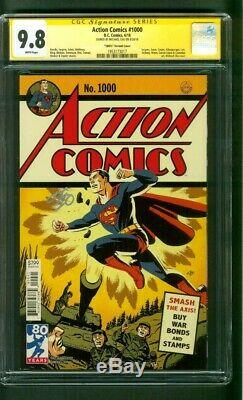 Action Comics Superman 1000 Cgc 9.8 Ss Michael Cho 1940, La Variante