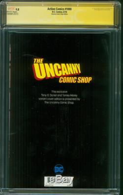Action Comics Superman 1000 Cgc 9.8 Ss Tony Daniel Uncanny Comic Boutique Ed Variant
