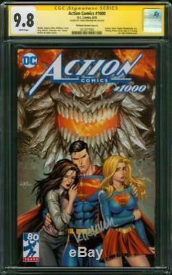 Action Comics Superman 1000 Cgc 9.8 Ss Tyler Kirkham Doomsday Variante A Film