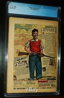 Action Comics Superman # 117 1948 D. C. DC Comics Cgc 1.8 Gd