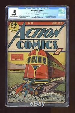 Action Comics (dc) # 13 1939 Cgc 0.5 1417264001