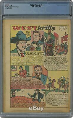Action Comics (dc) # 14 1939 Cgc 0.5 2012215008